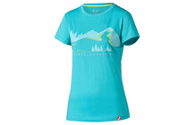 T-Shirt Cube Fichelmountains WLS turquoise